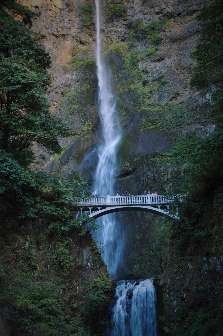Multnomah Falls Columbia River Gorge Portland, Oregon