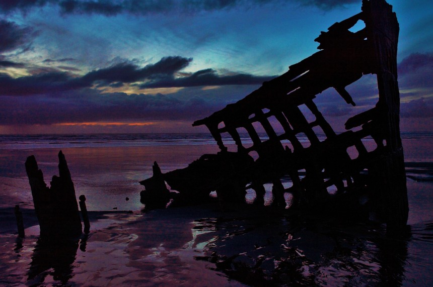 Shipwreck of the Peter Iredale Astoria, Oregon