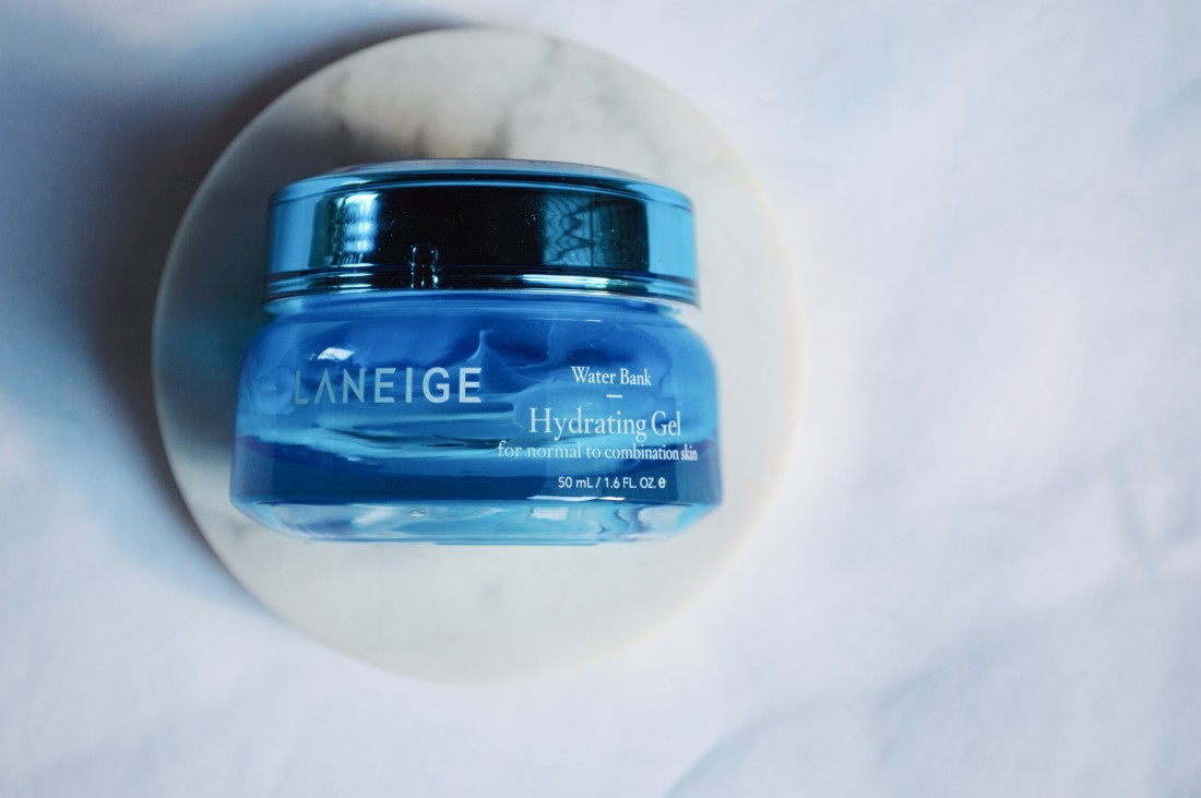 2018 Skincare Favorite: Laneige Water Bank Hydrating Gel