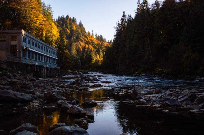 Snoqualomie Falls Washington