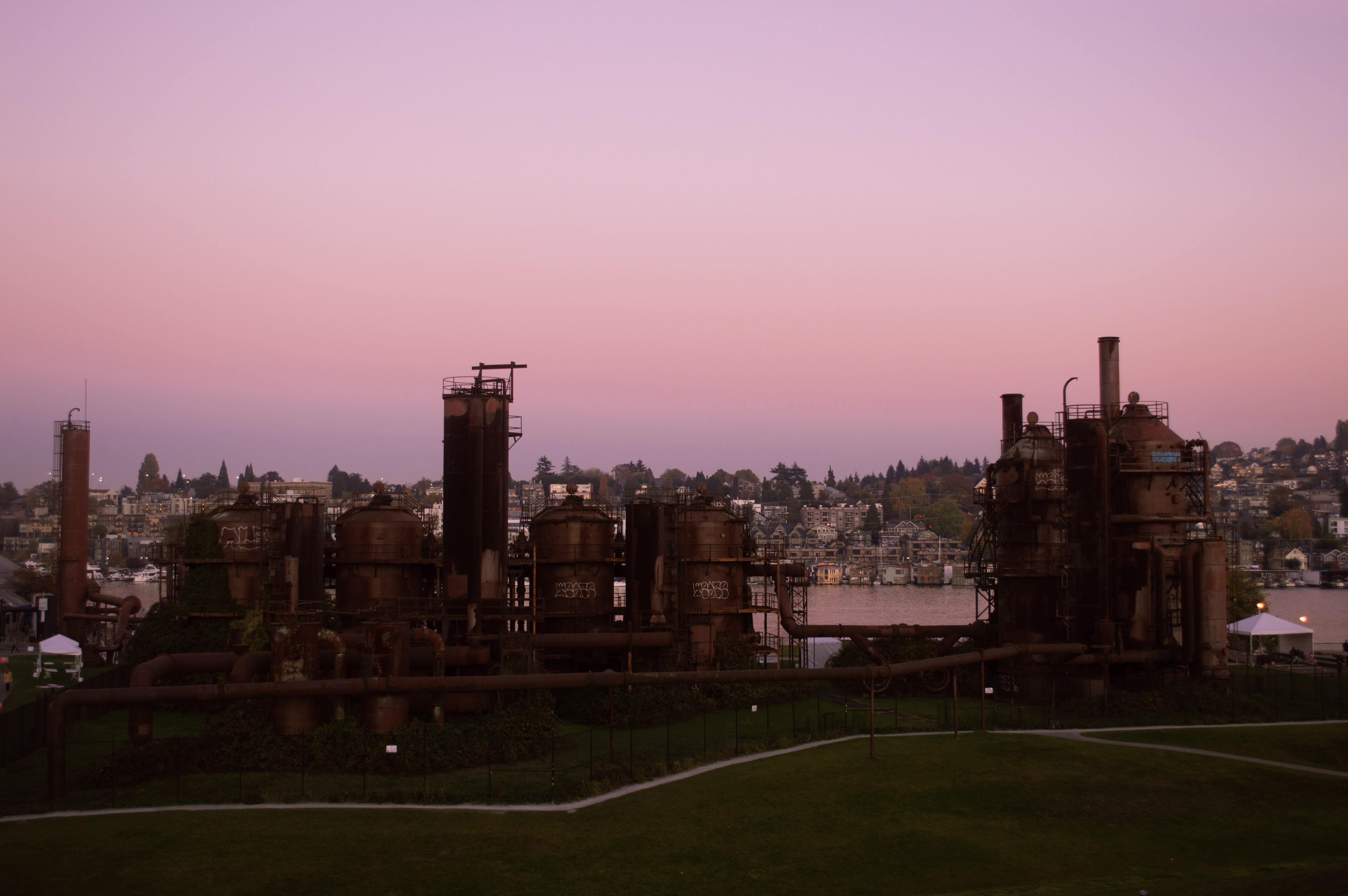 Gas Works Park Seattle Washington