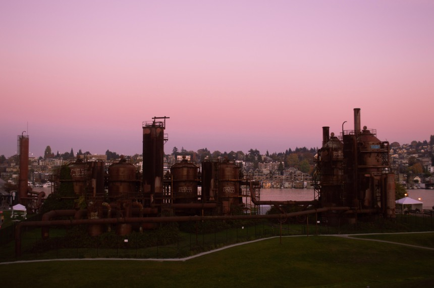 Gas Works Park Seattle Washington