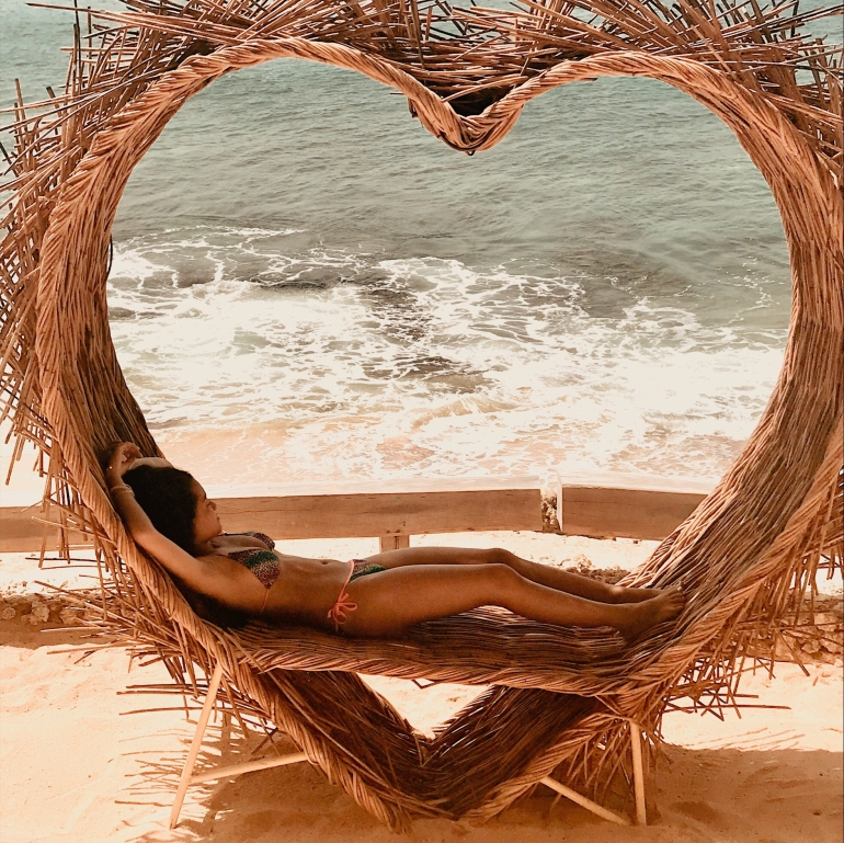 What to Expect Your First Time in Bali - Heart Sculpture