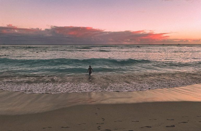 Sunsets and photos of Oahu Hawaii