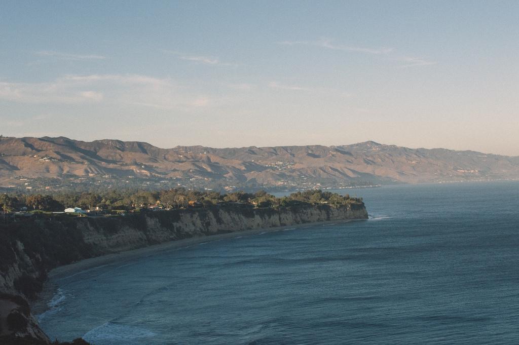 Viewpoint at Point Dume, Malibu, California