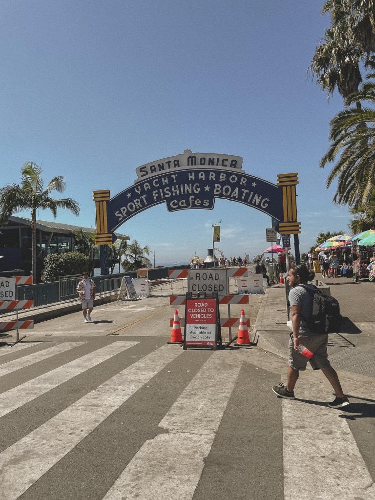 Santa Monica Pier | Santa Monica, Los Angeles, California