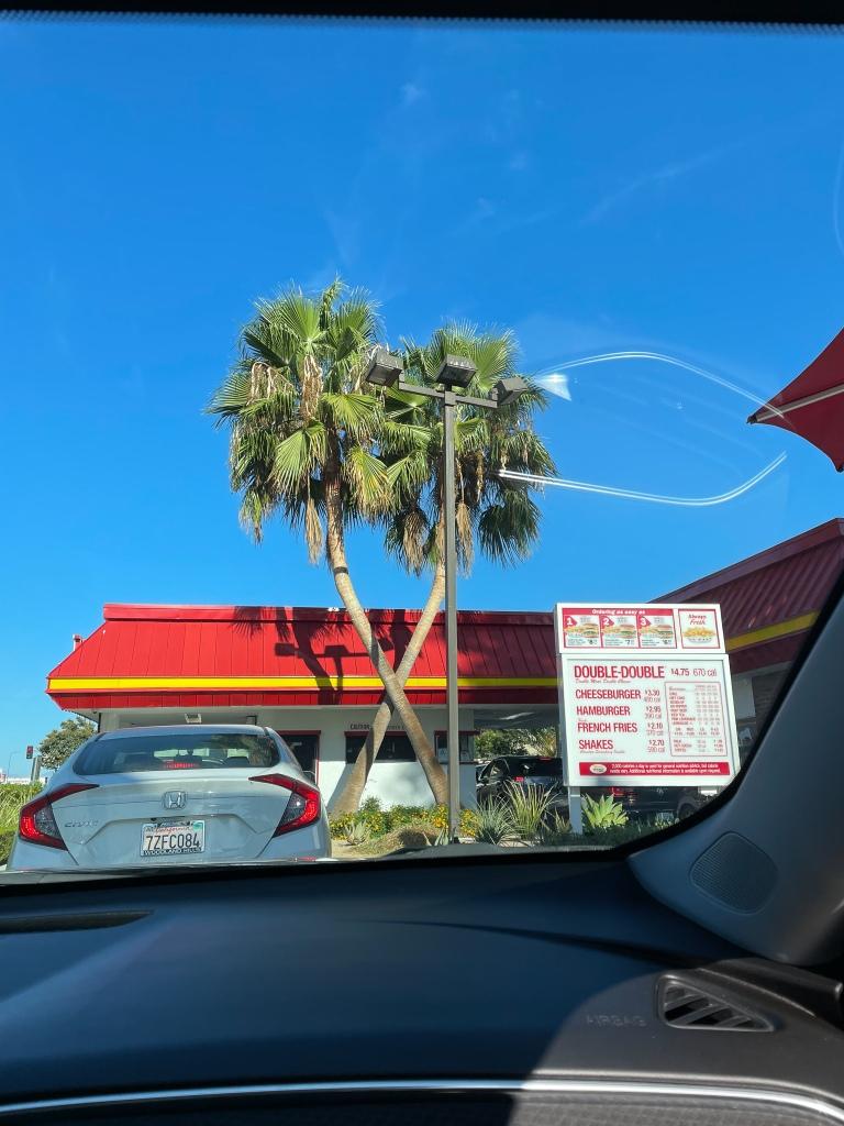 In-n-out Calabasas, California
